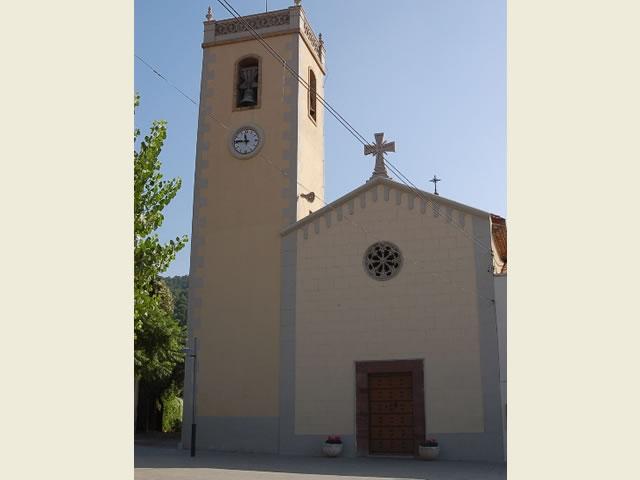 Parròquia de Santa Maria La Palma de Cervelló